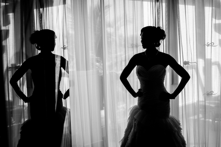 hard rock hotel destination wedding bride