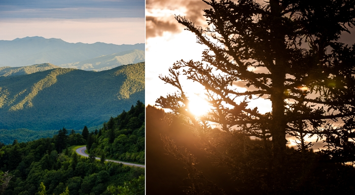 blue ridge parkway adventure photo