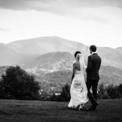 waynesville wedding photos on a mountaintop