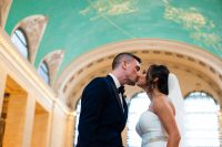 Grand Central Station wedding portraits
