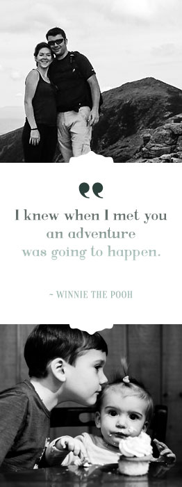 I knew when I met you an adventure was going to happen. - Winnie the Pooh