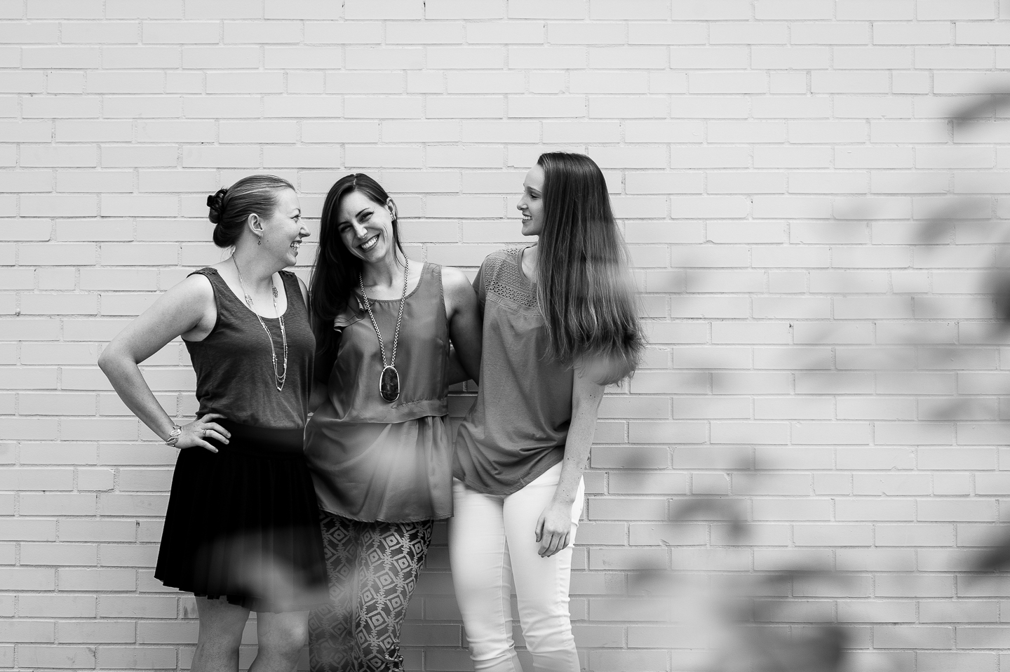 Black and white photo of Greenville wedding planners I Do