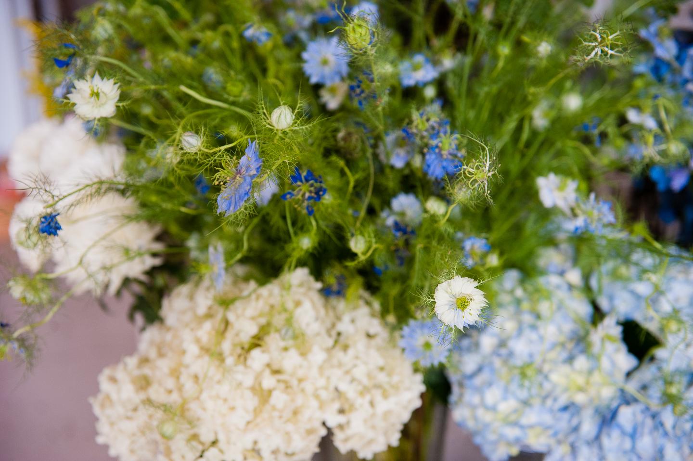 gorgeous flowers adorn Floras studio in west asheville