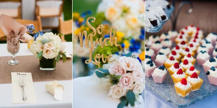 this estate wedding had absolutely gorgeous elegant details