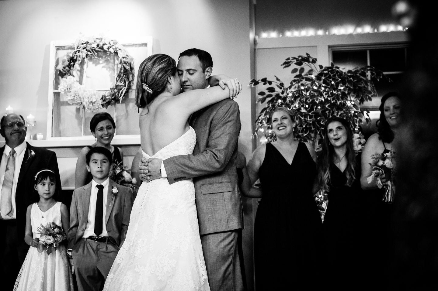 first dance fall country club wedding