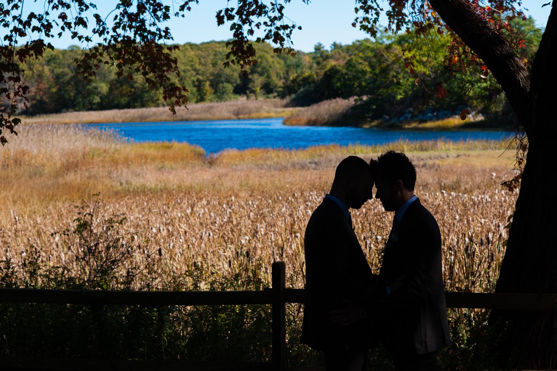 fall asheville estate wedding