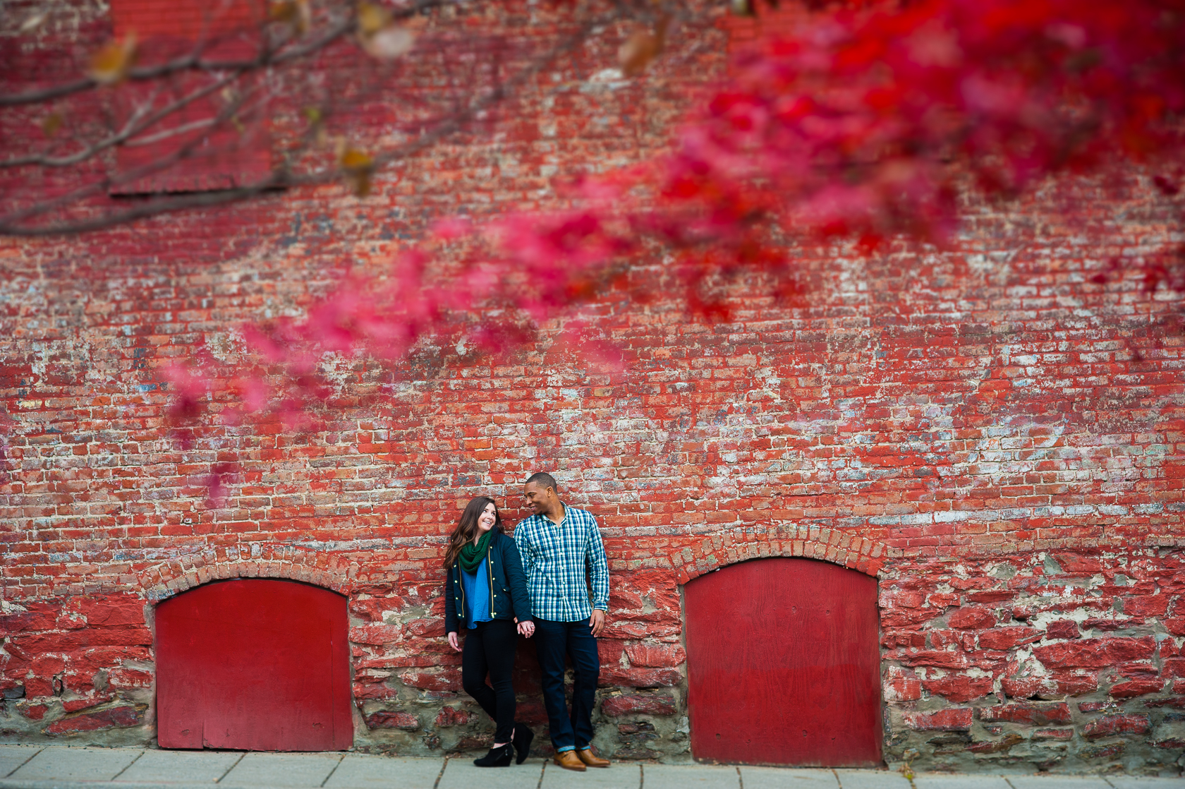 asheville engagement session  photo of adorable couple
