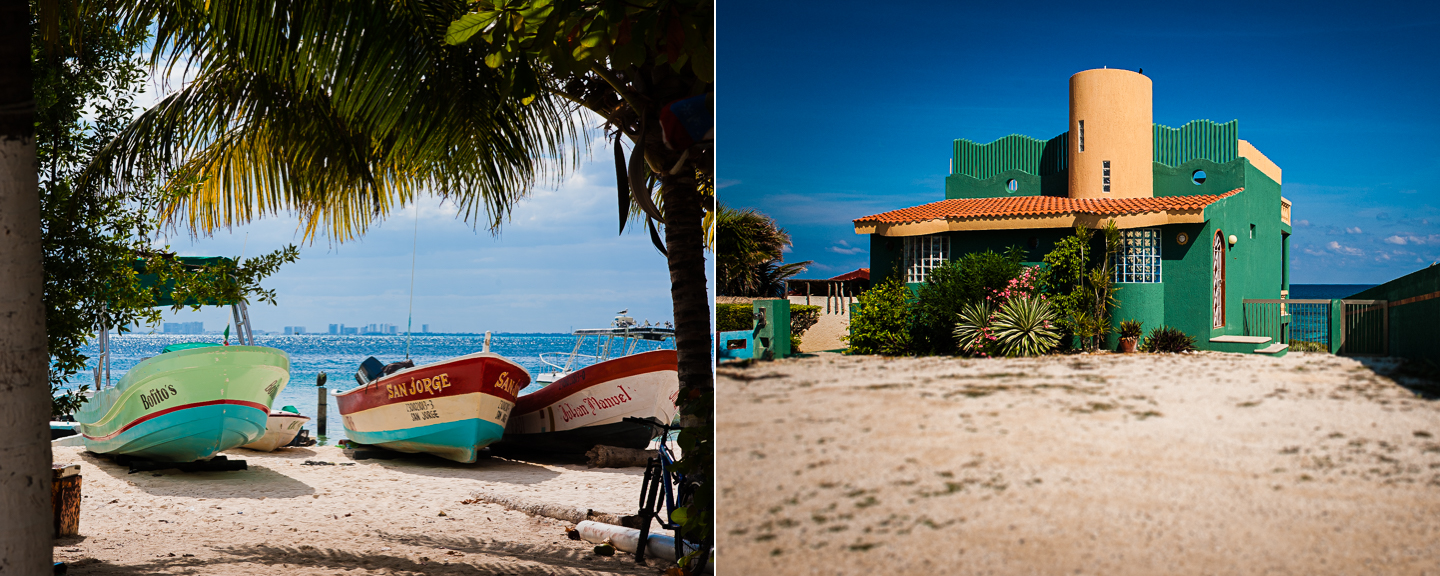 gorgeous beaches and boats isla mujeres photography