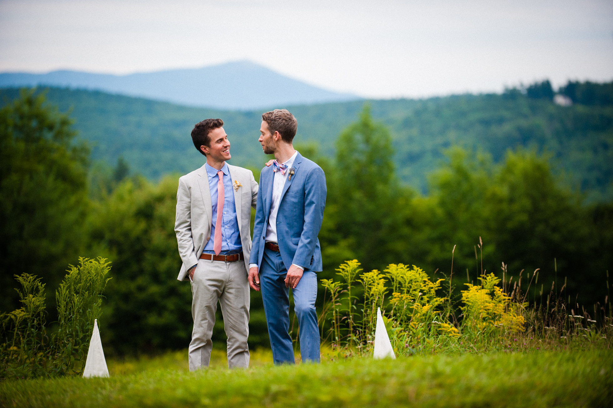 gorgeous mountain wedding portraits in the blue ridge mountains