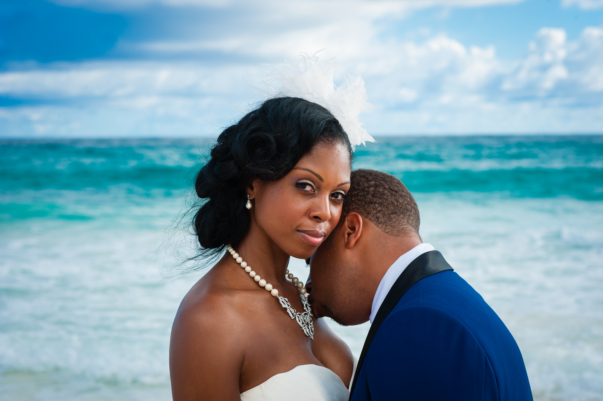 hard rock punta cana wedding portrait
