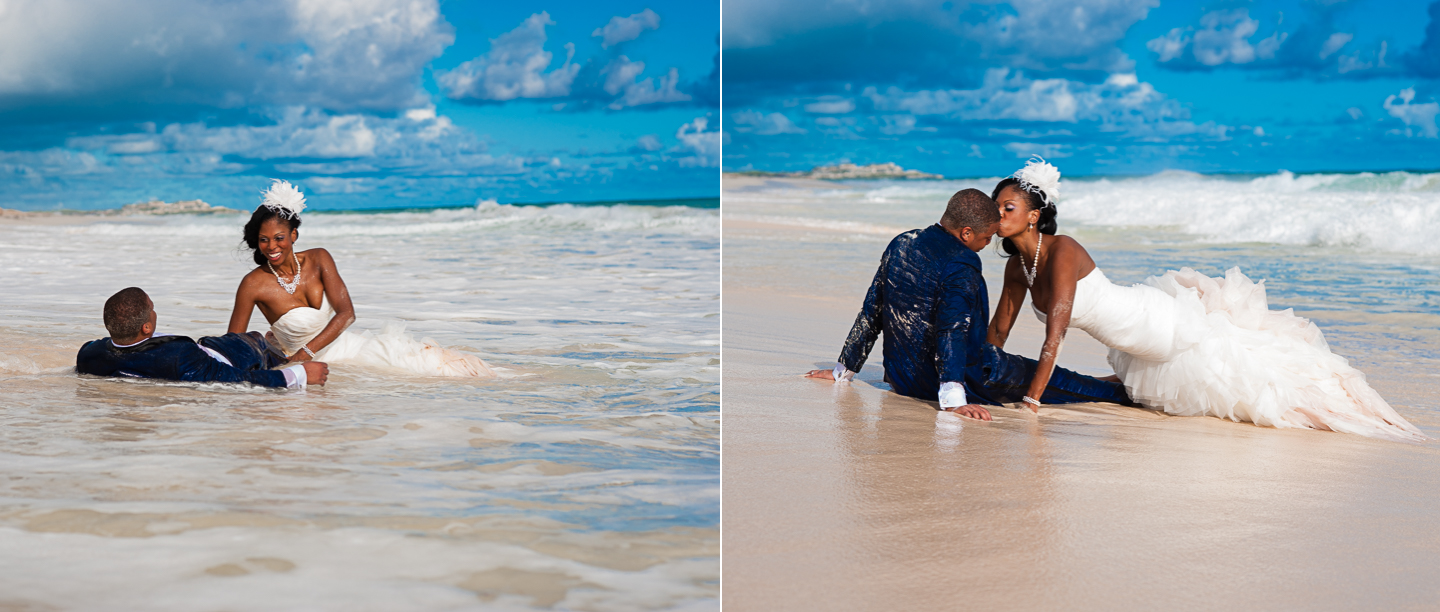 hard rock punta cana trash the dress session