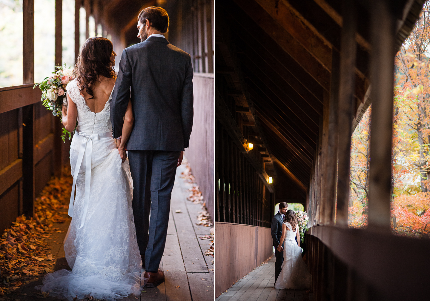 gorgeous destination wedding portraits vermont