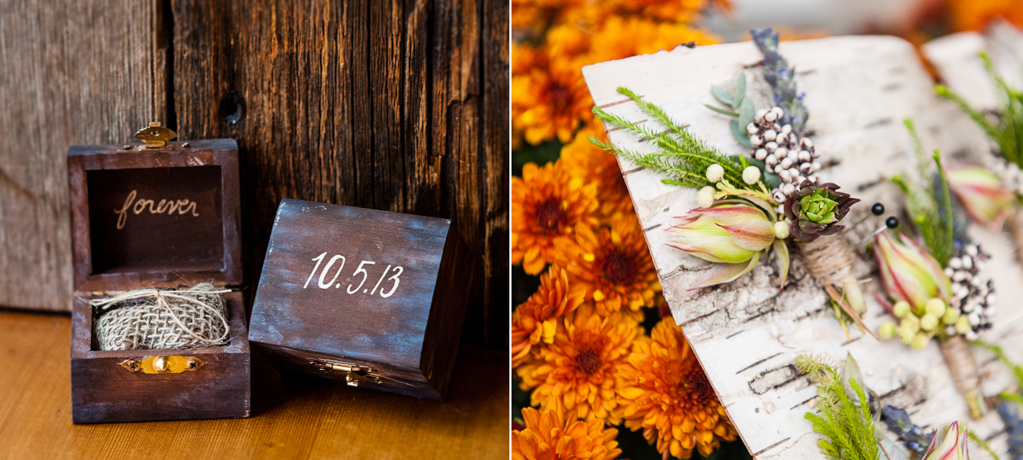 woodstock inn fall wedding details