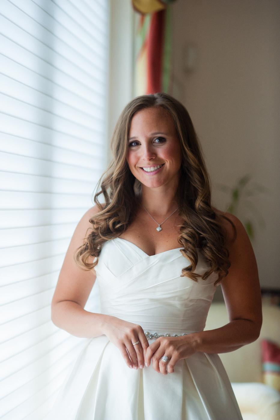 beautiful asheville bridal portrait