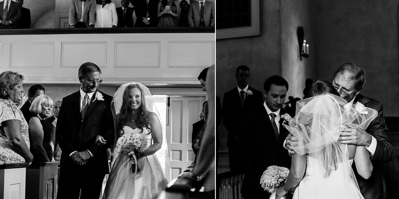 asheville wedding photographer ceremony