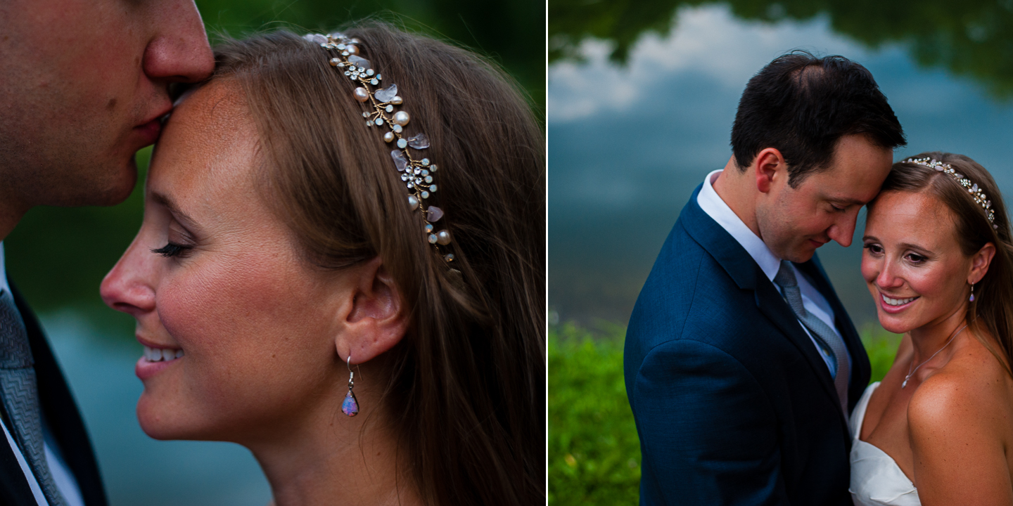 gorgeous bride and groom portraits in asheville