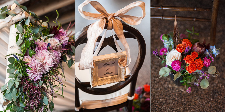 the venue asheville wedding ceremony details