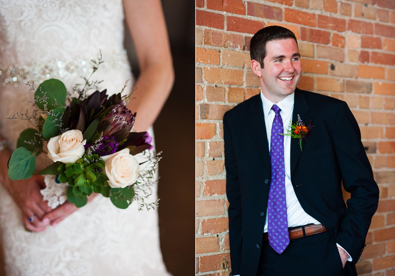 handsome asheville wedding groom