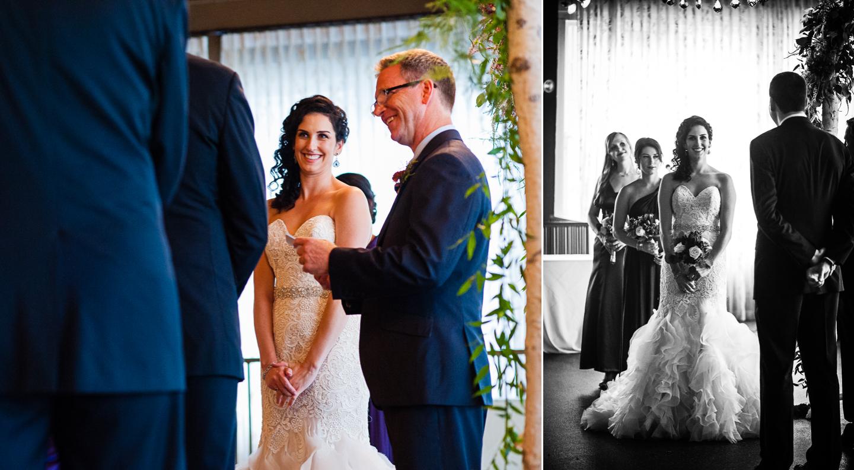 fun intimate asheville wedding ceremony