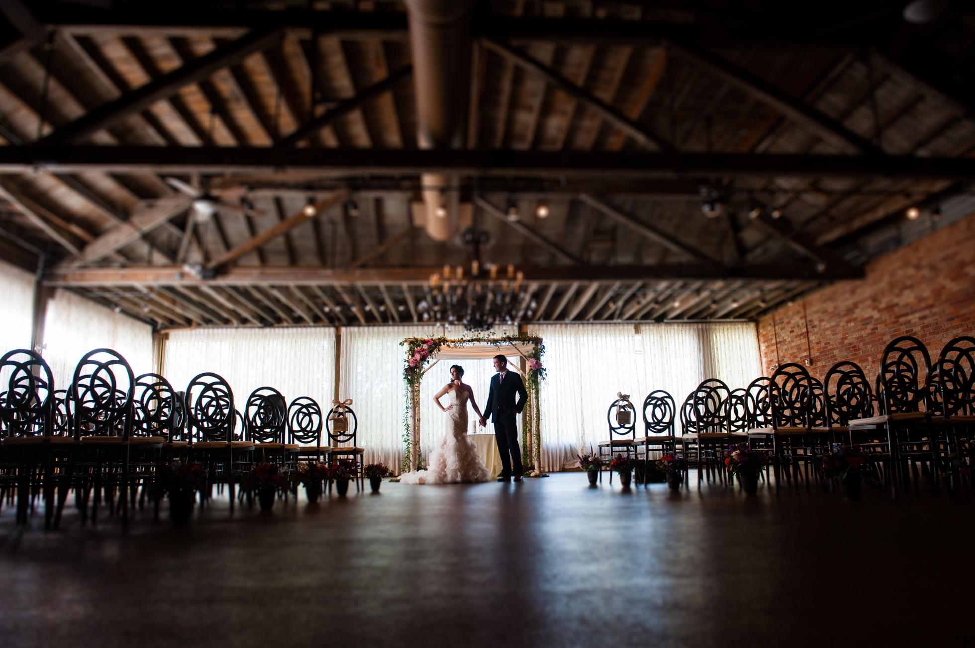 The Venue Asheville wedding photo
