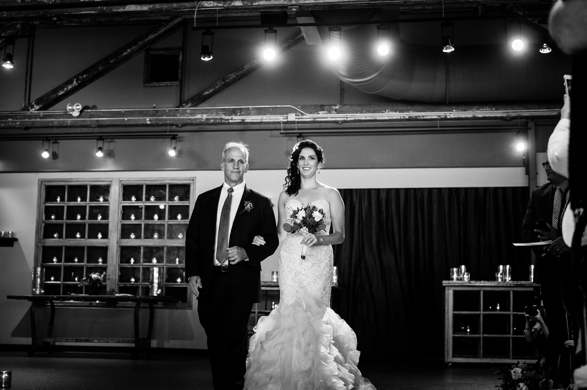 the venue asheville wedding ceremony