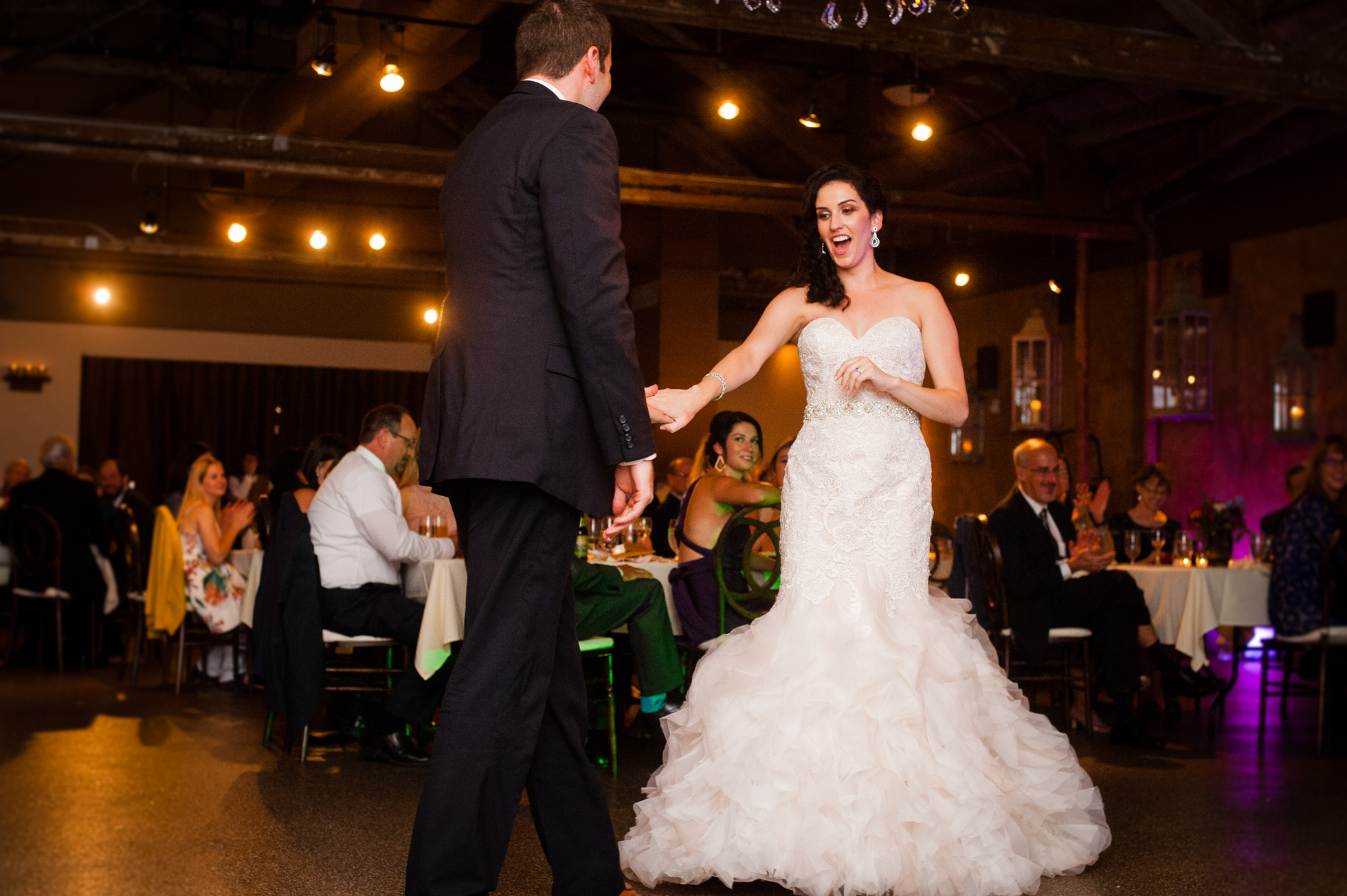 first dance at The Venue