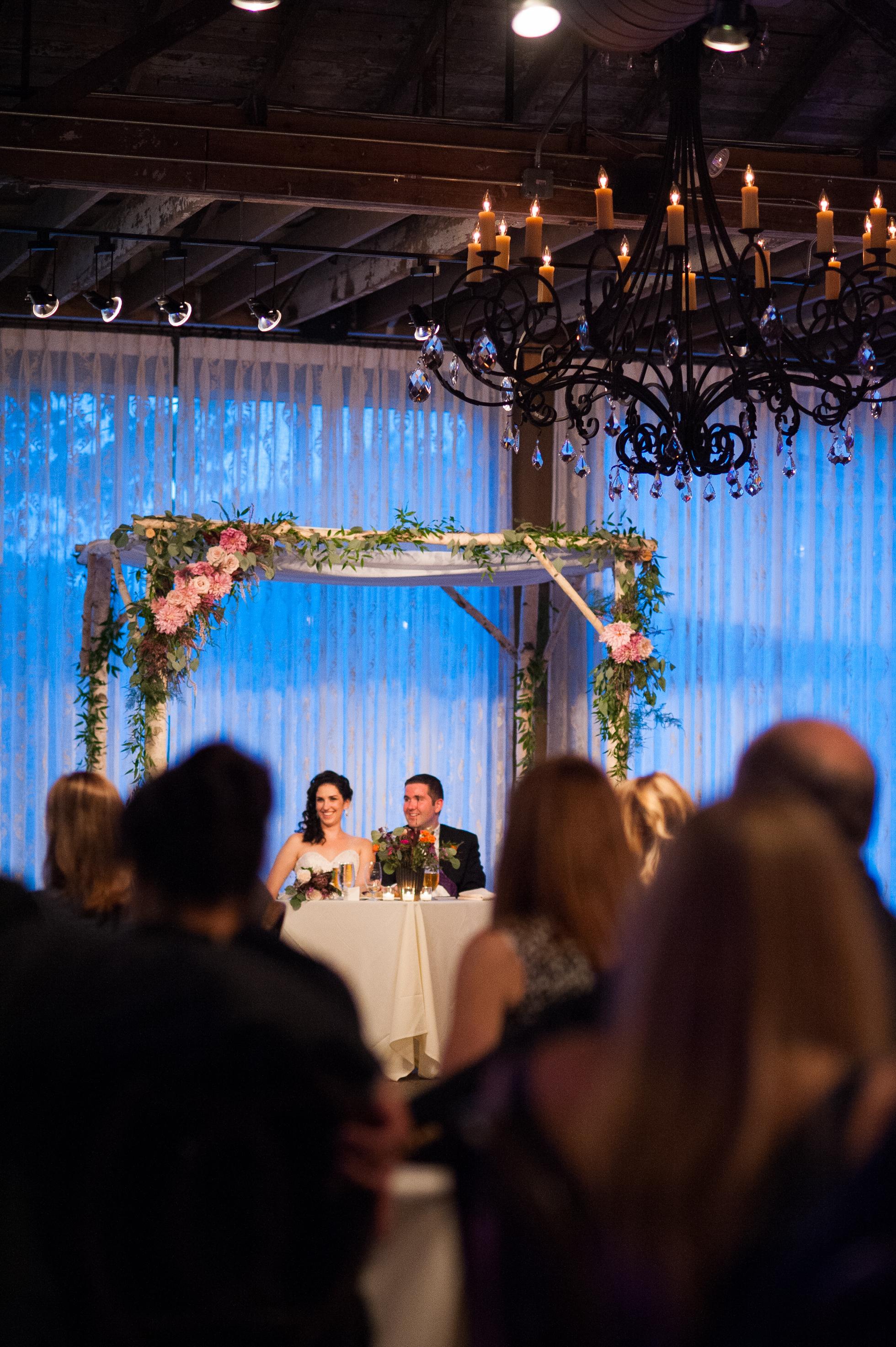 gorgeous asheville wedding at The Venue