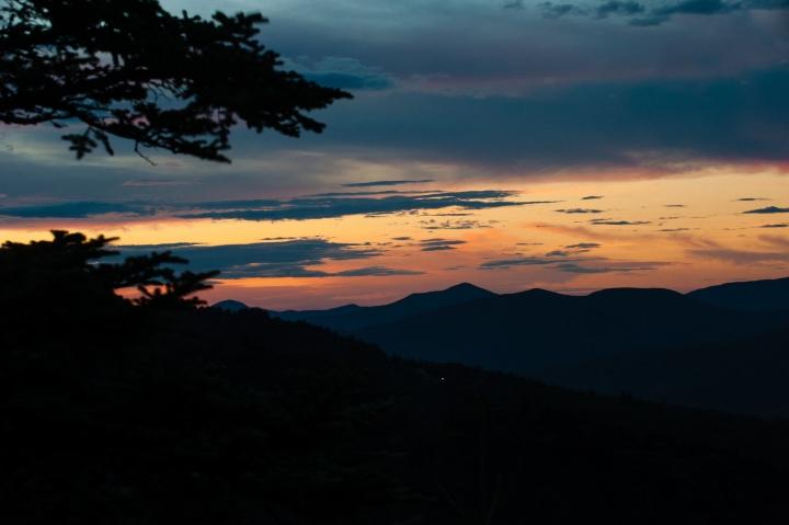 waterrock knob sunrise