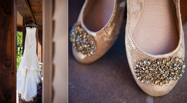 asheville wedding photos of shoes