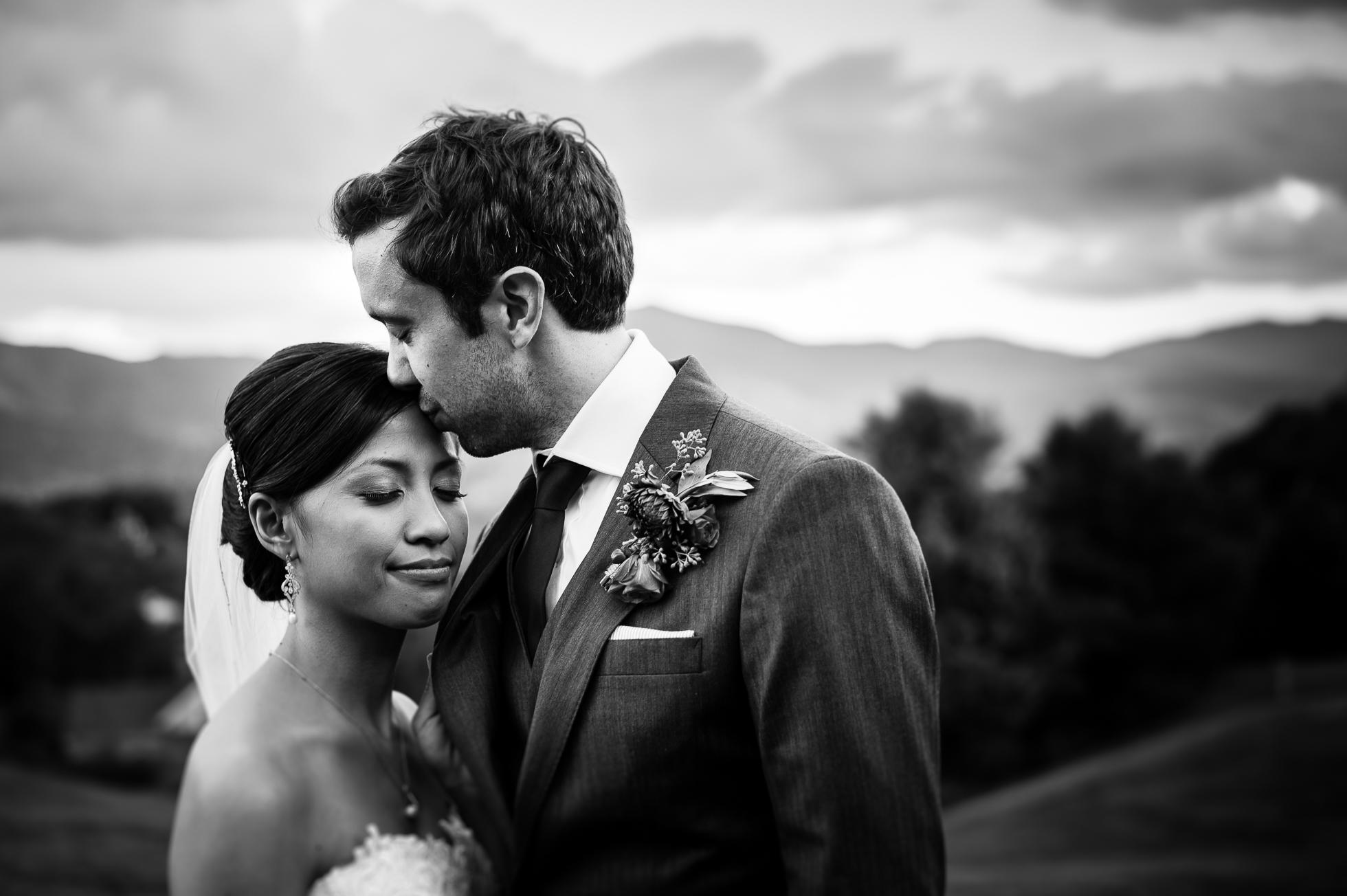 asheville outdoor wedding