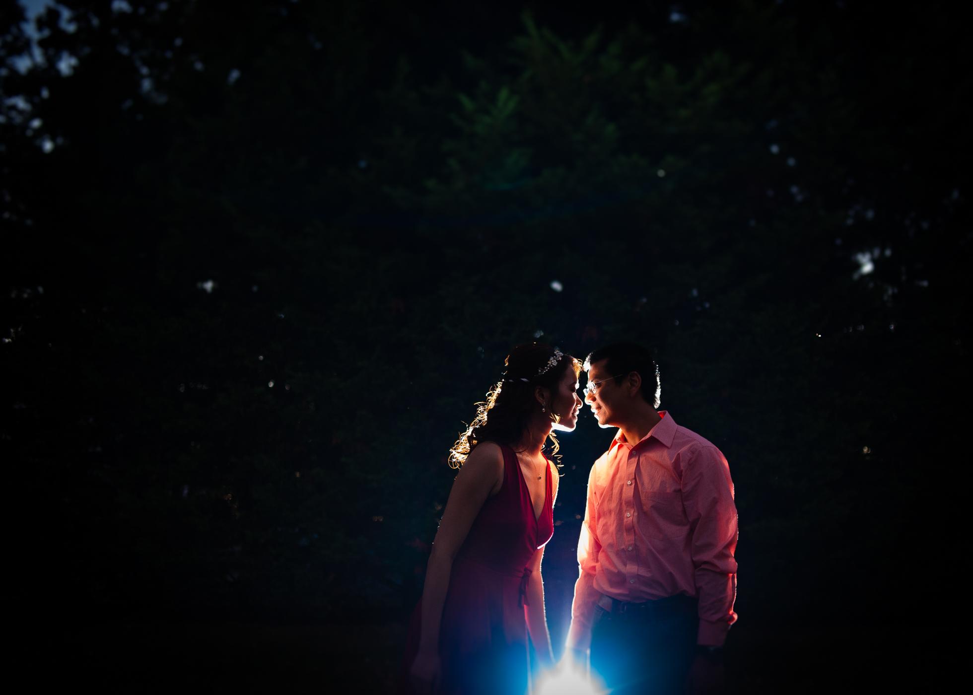 asheville engagement photo