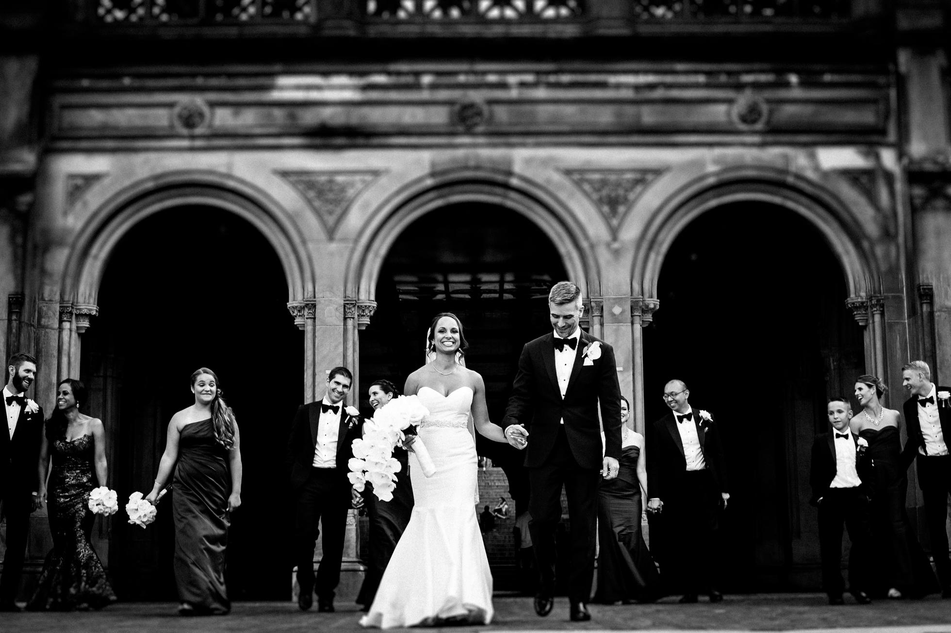 Central Park wedding portraits