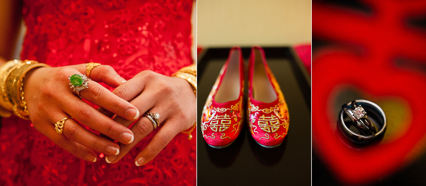 traditional chinese wedding details by asheville wedding photographer