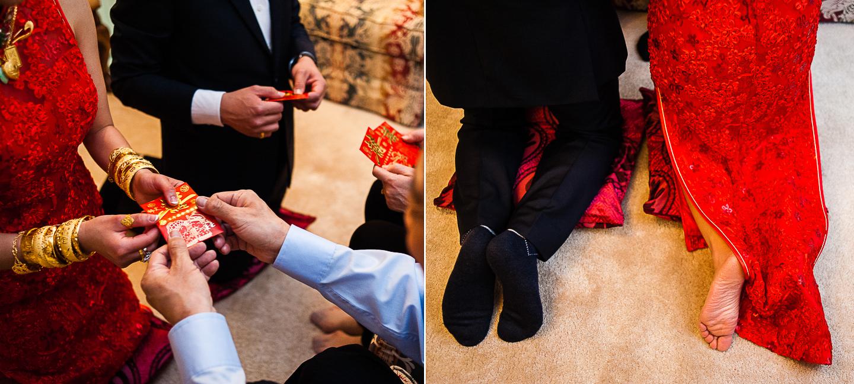 chinese tea ceremony wedding photo
