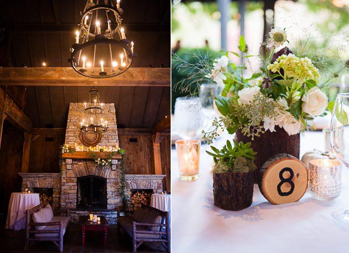 old edwards inn wedding reception details