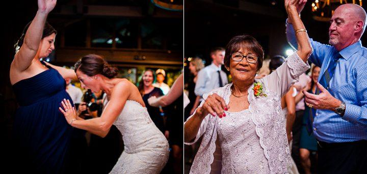 dancing at old edwards inn reception