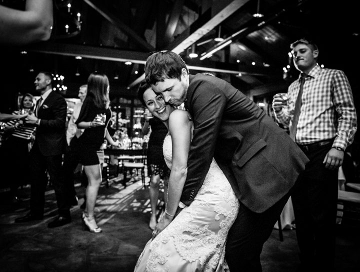 last dance during old edwards inn wedding