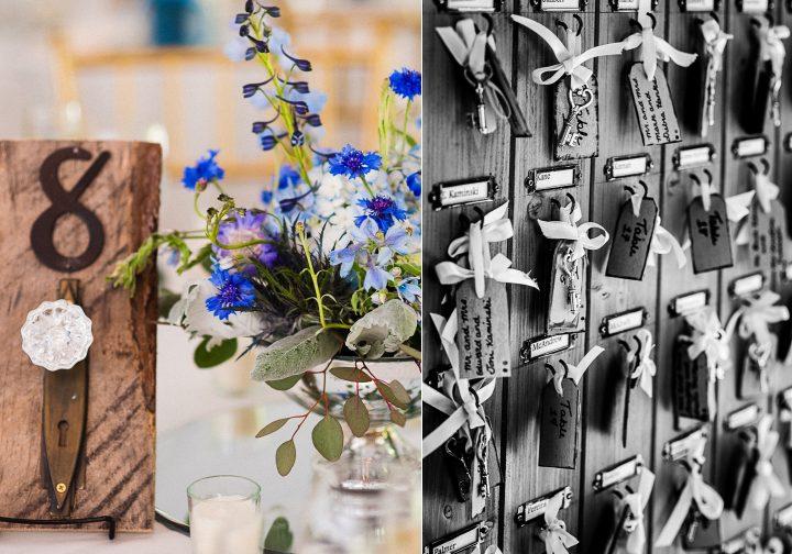 asheville estate wedding details