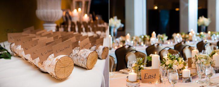 birch tree asheville wedding detail