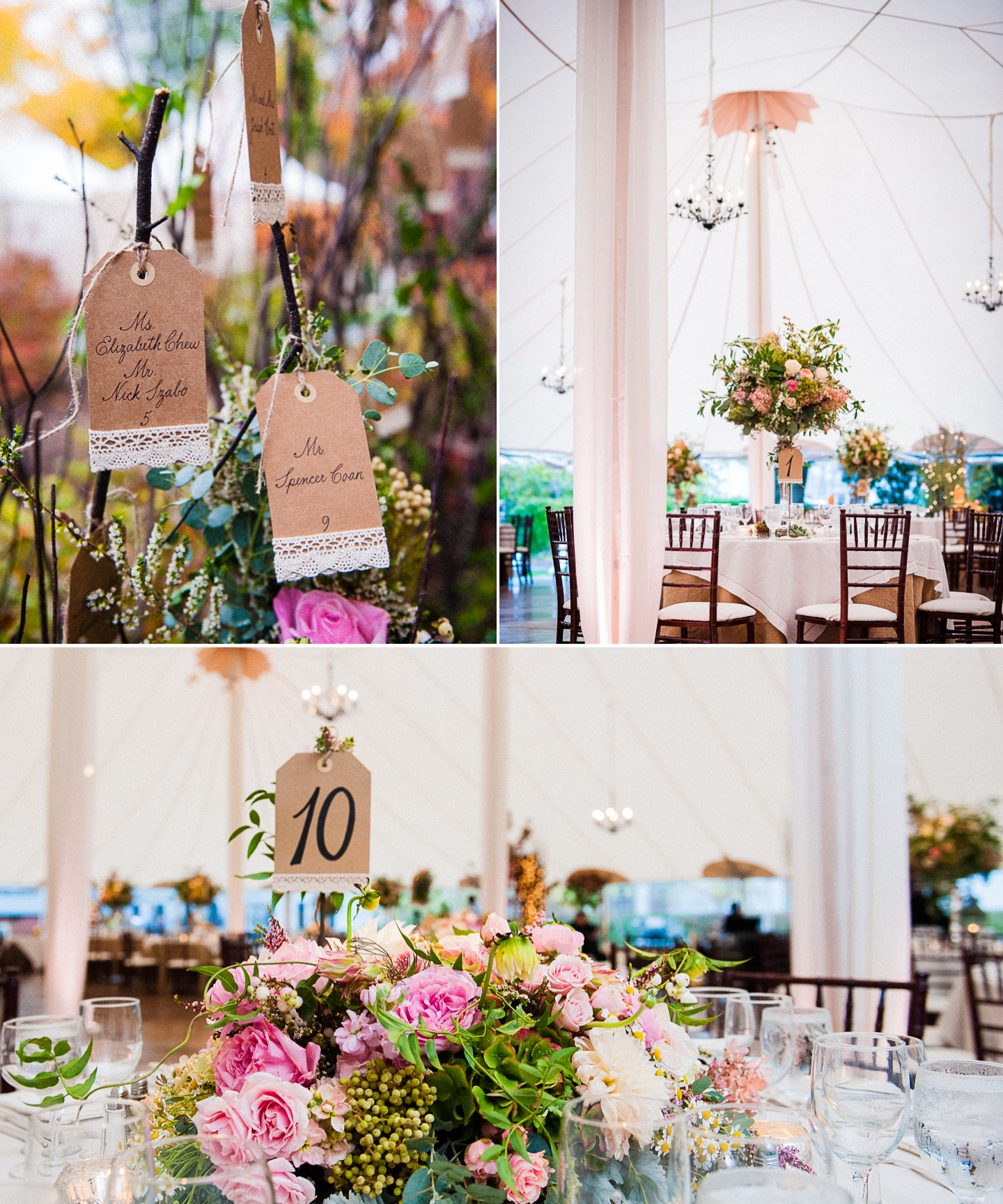 asheville luxury wedding details