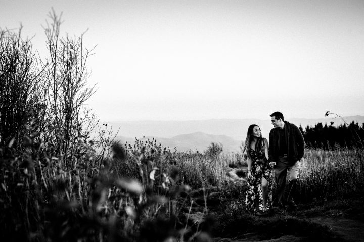 asheville mountaintop engagement