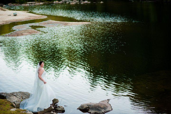 boone bridal portraits