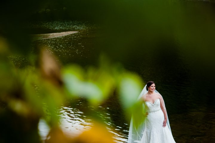 linville gorge bridal portraits