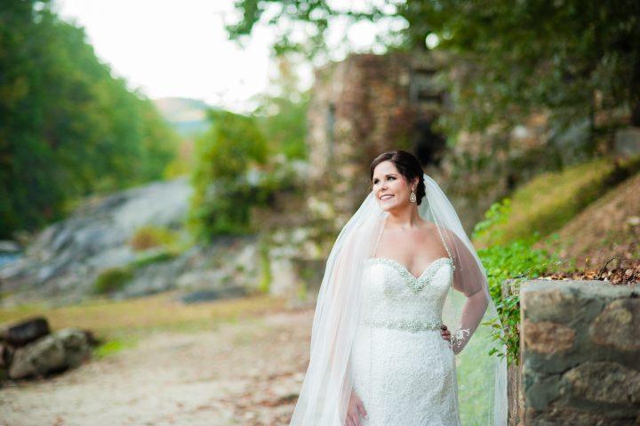 beautiful brown mountain beach resort bride