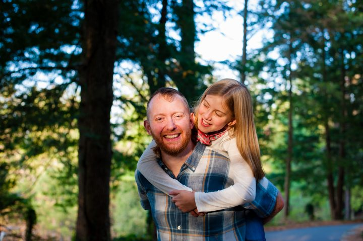 a family portrait session at carl sandburg home