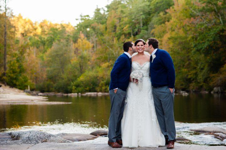wedding portraits at brown mountain beach resort