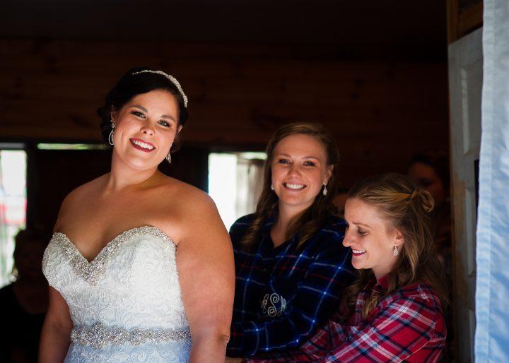 brown mountain beach resort wedding photos