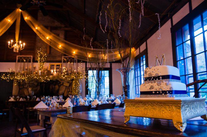 Rustic elegant mountain lodge wedding