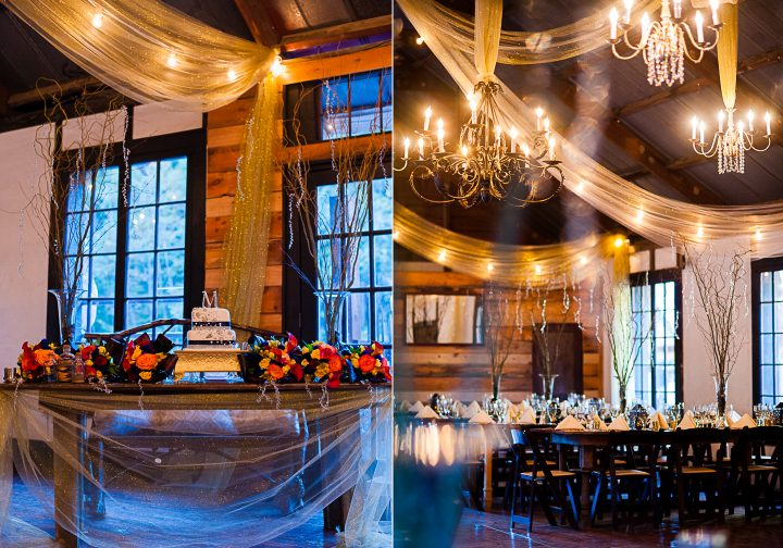 beautiful wedding details at brown mountain beach resort