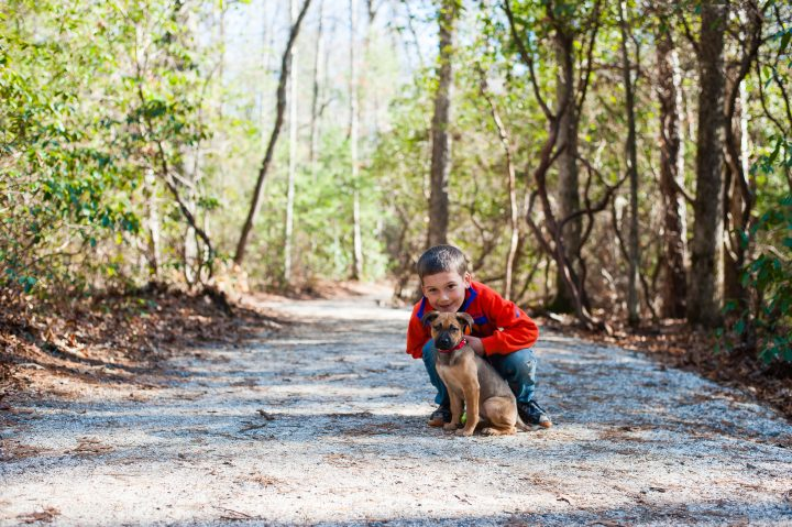 family adventure time at dupont state park